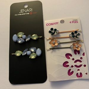 Jenari & Conair Hair Clips-2pack